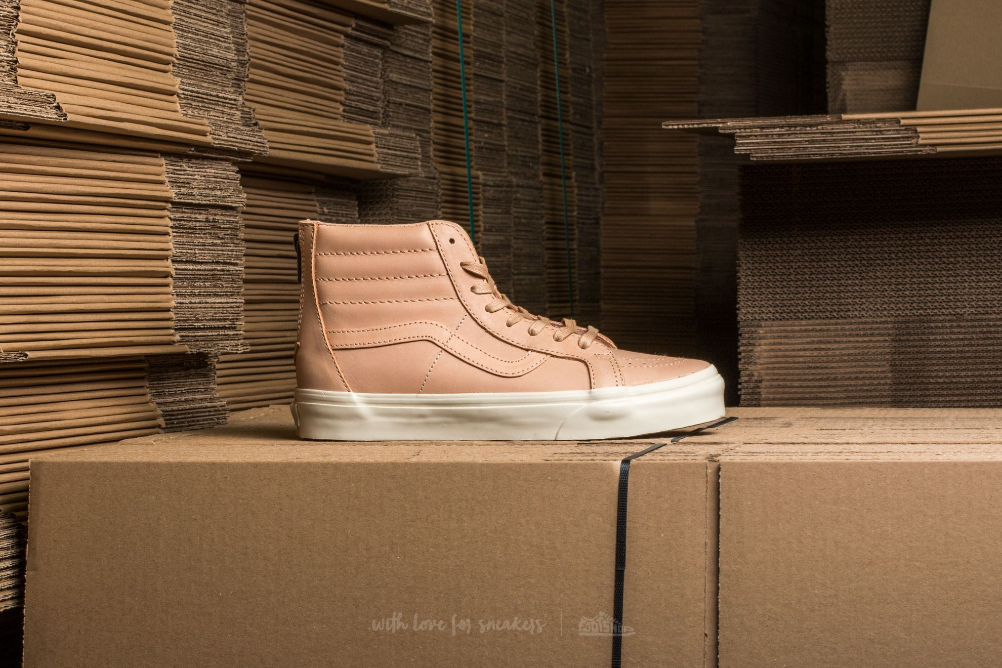 NEW IN! Vans SK8 HI REISSUE ZIP (Veggie Tan Leather) | Vans