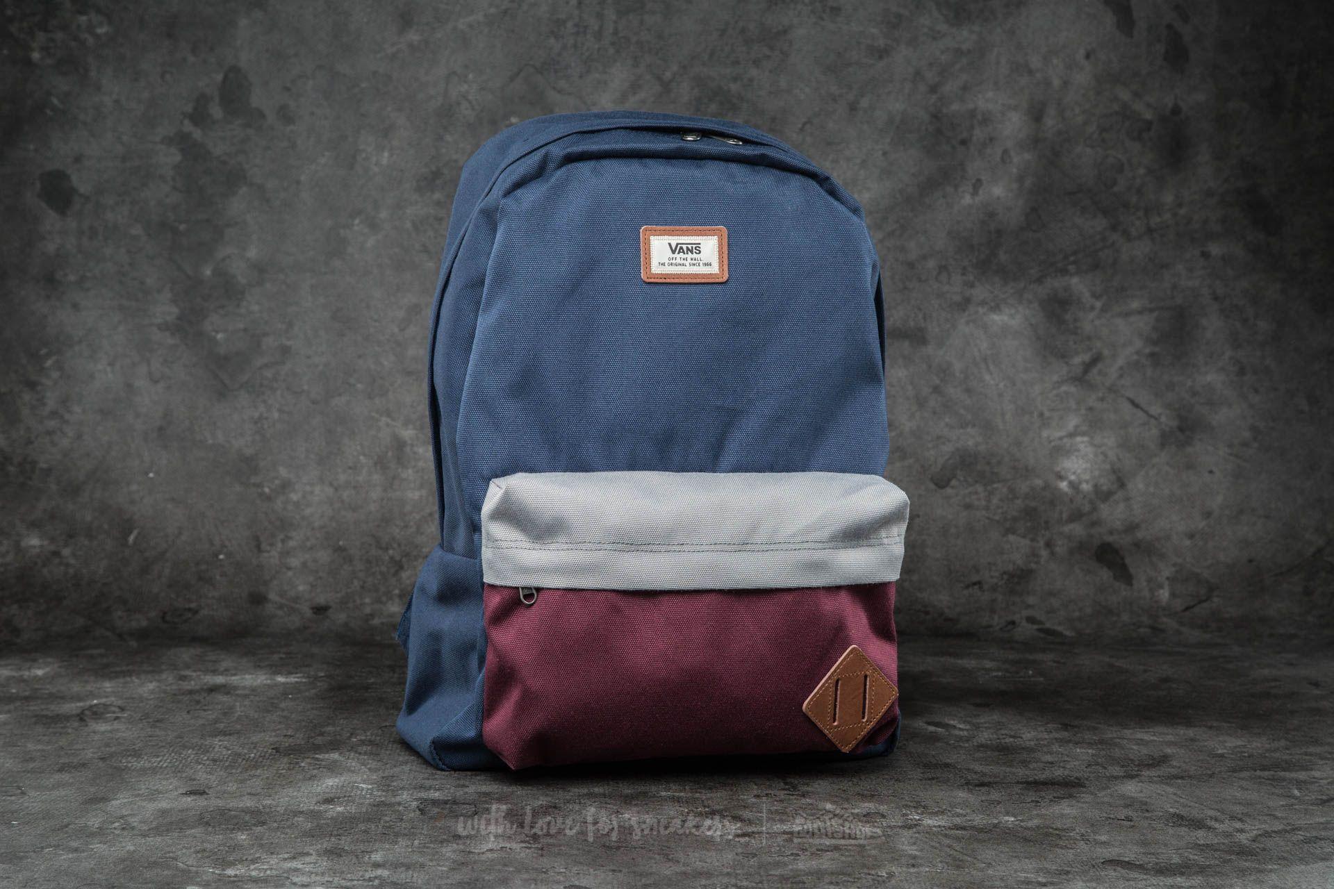 Vans Old Skool II Backpack Port Royale Colorblock  a7ea2da64