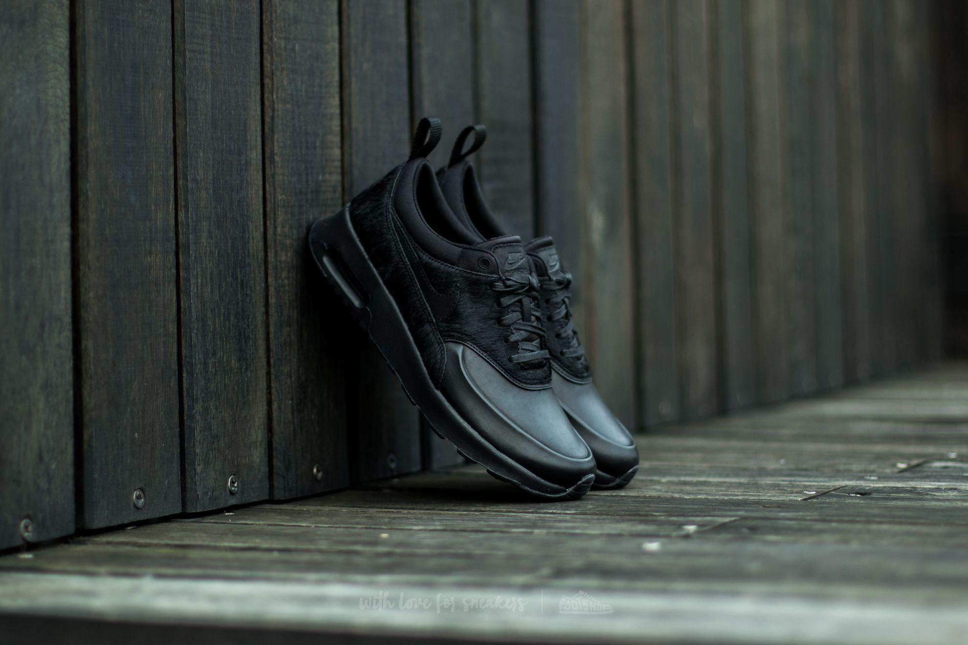 9e4642d95b Nike Wmns Air Max Thea Premium Black/ Black-Black | Footshop