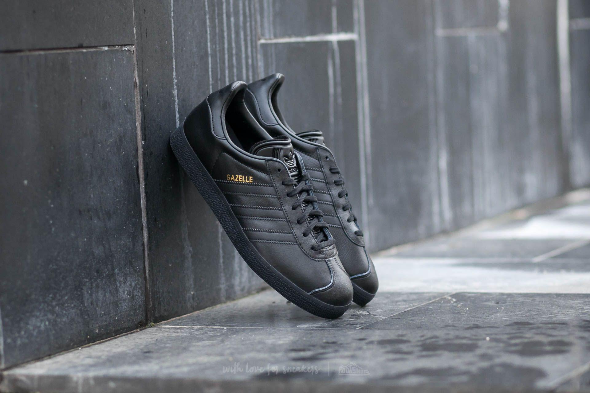 34a40688ba65 adidas Gazelle Core Black  Core Black  Gold Metallic
