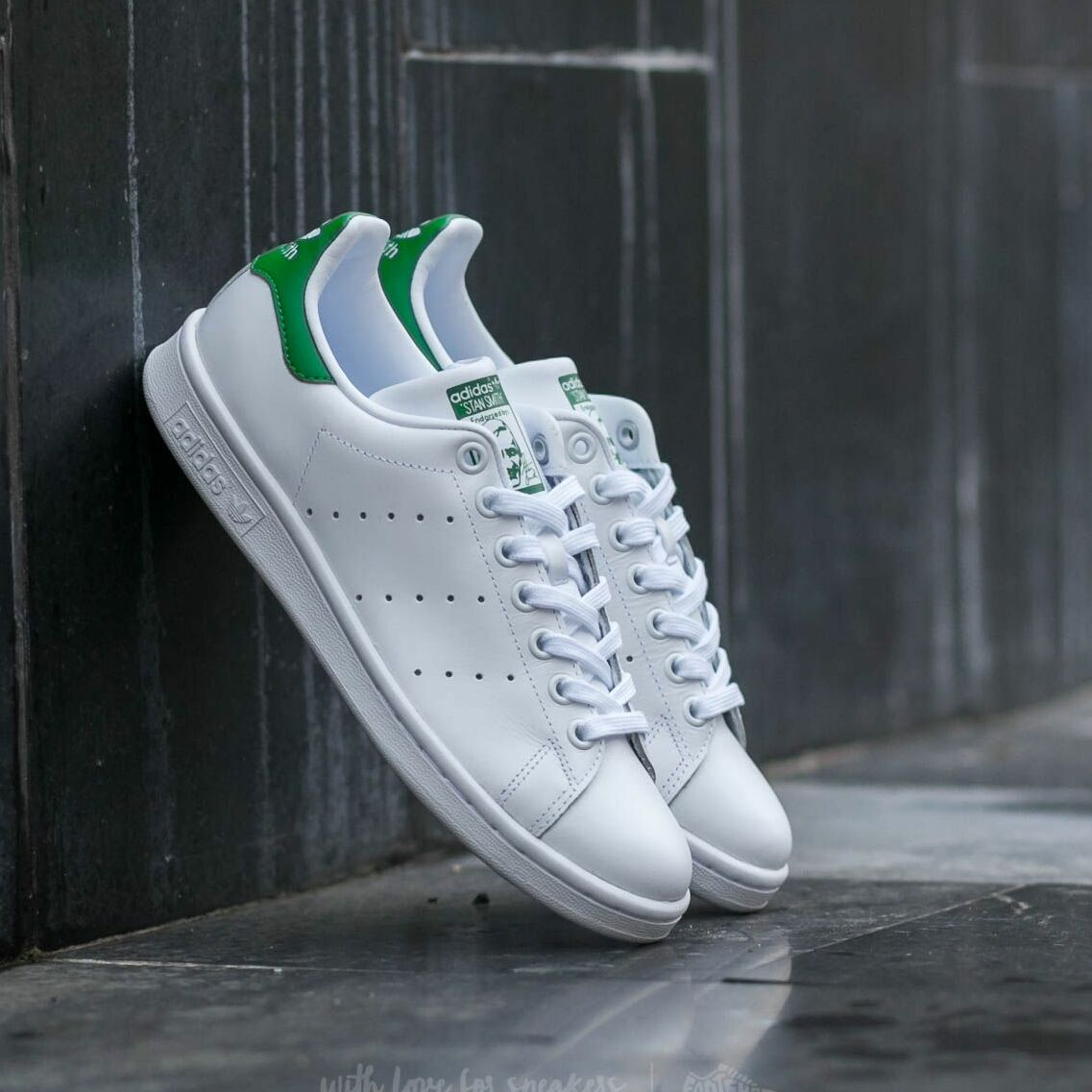 adidas Stan Smith W Ftw White/ Ftw White/ Green EUR 40