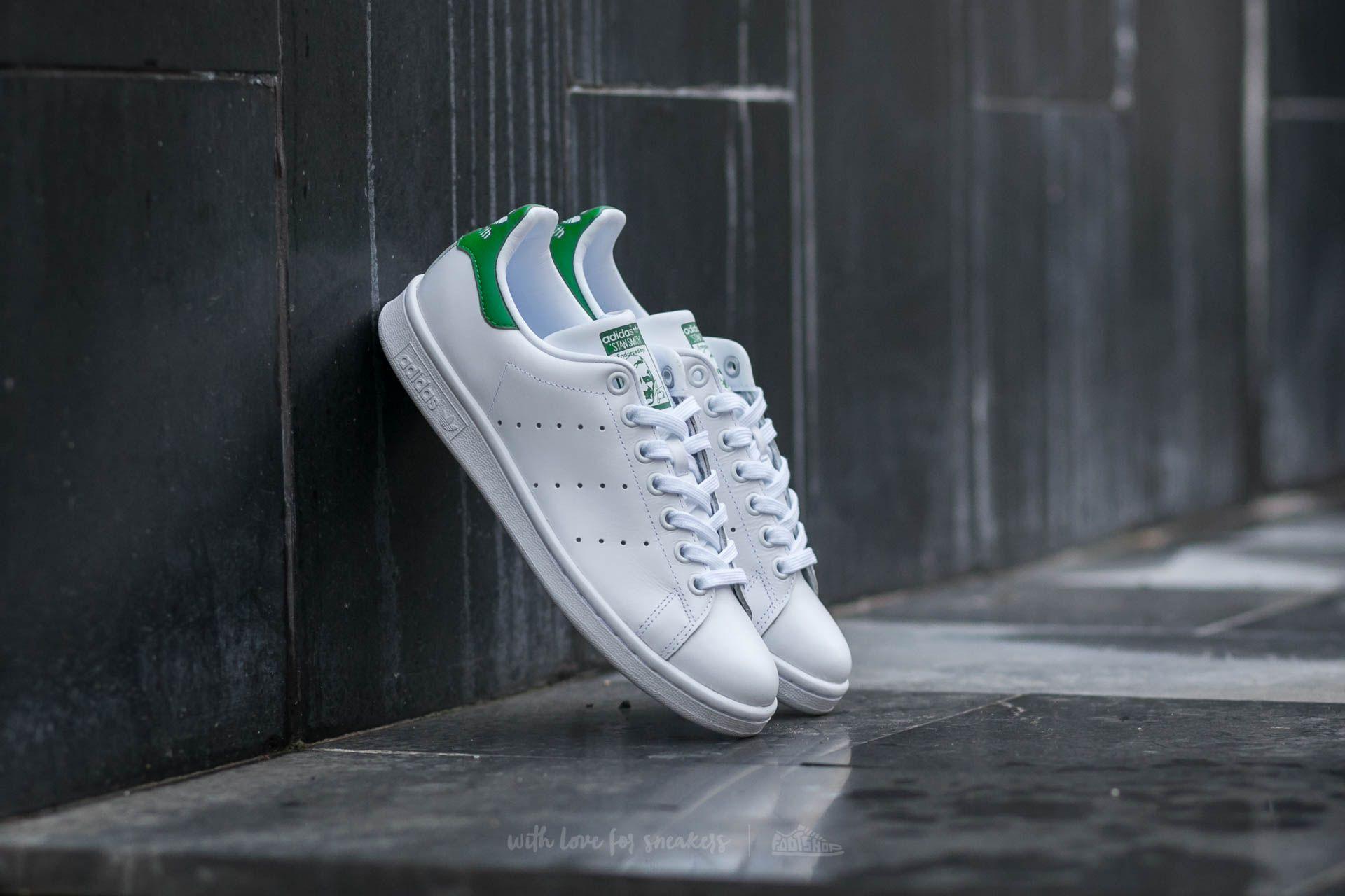 Dámské tenisky a boty adidas Stan Smith W Ftw White/ Ftw White/ Green