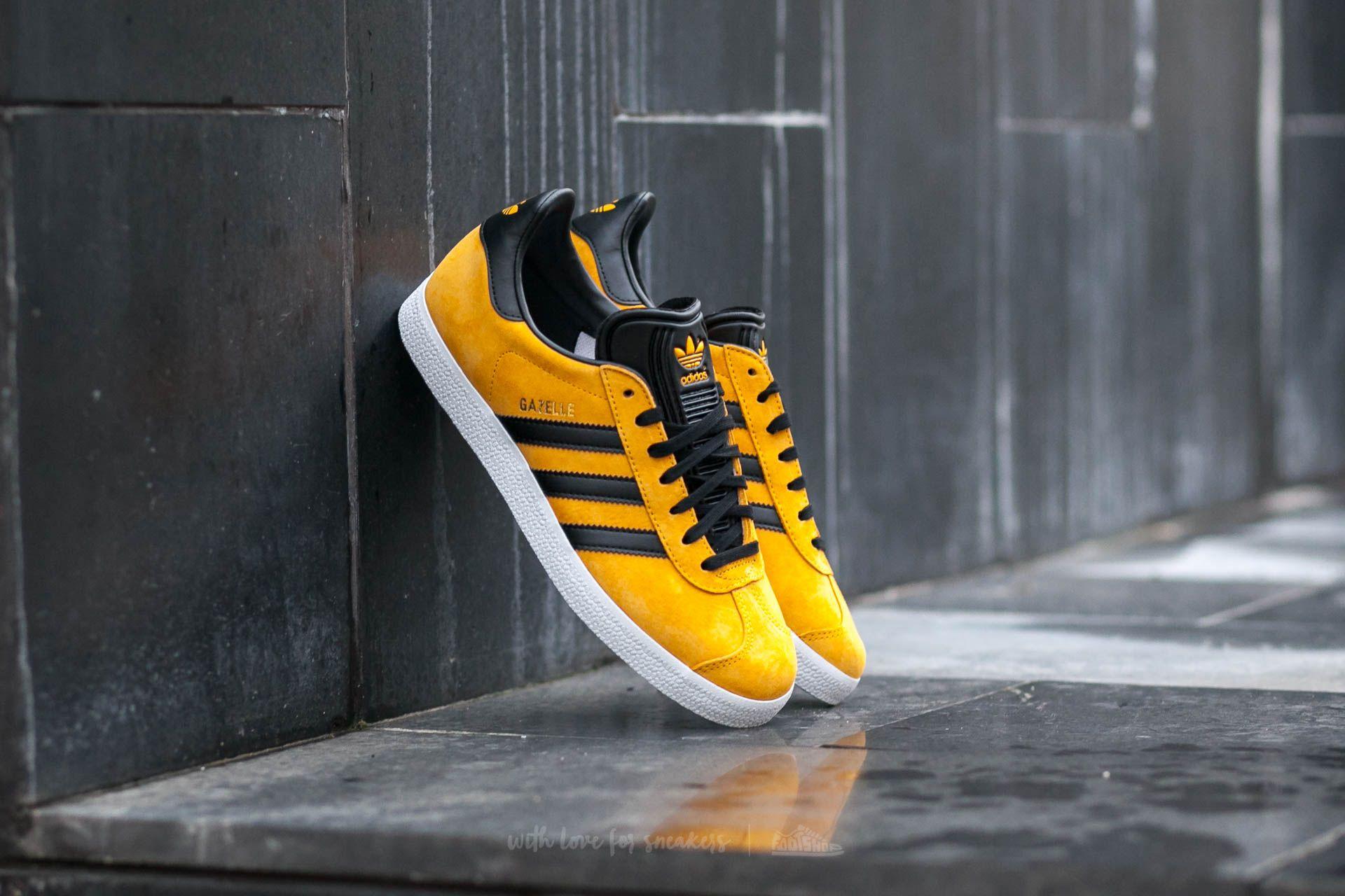 wholesale dealer 60c65 09fad adidas Gazelle Core Gold BlackGold Metallic  Footshop