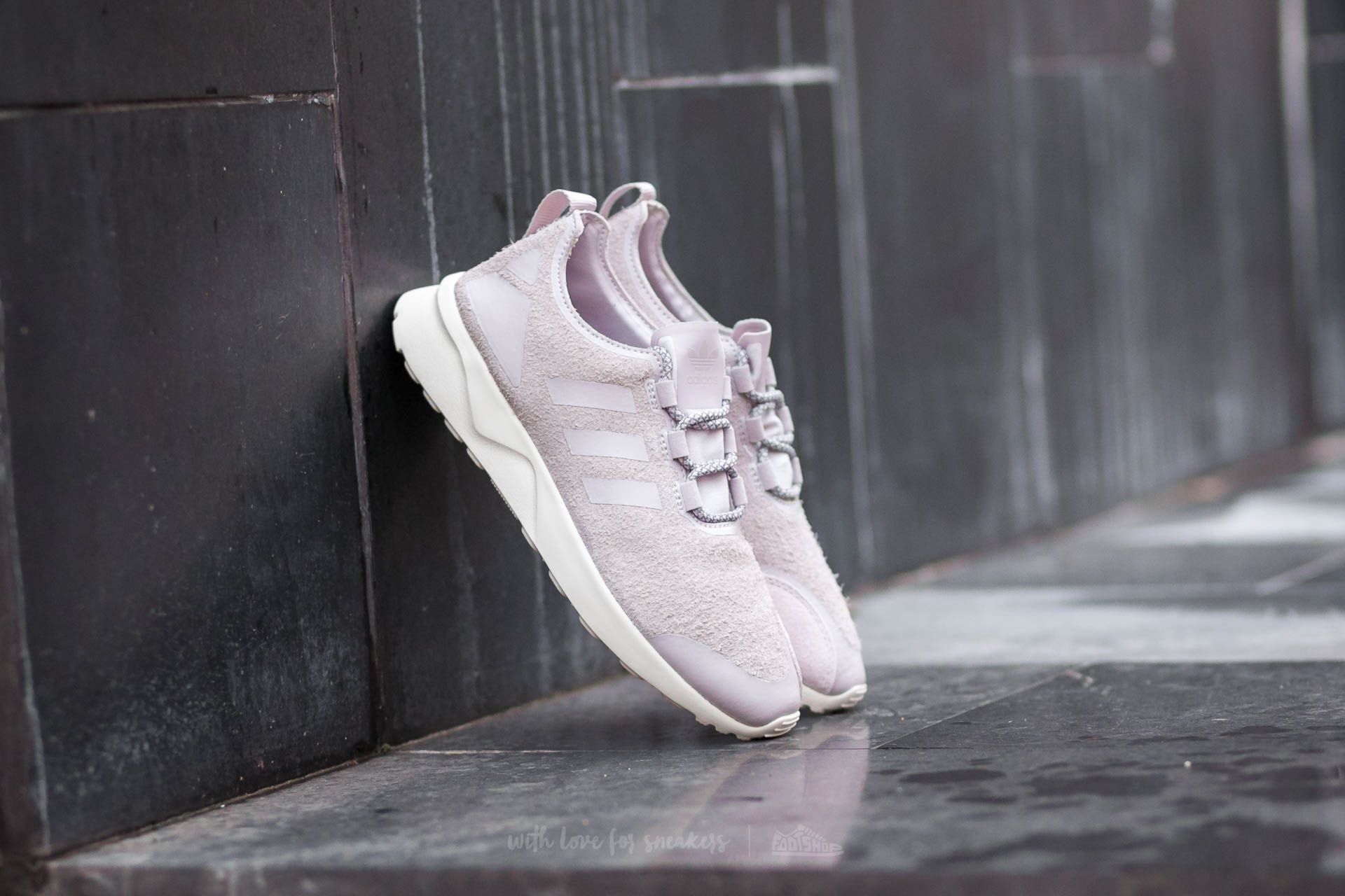108b90734b29e adidas Zx Flux Adv Verve W Ice Purple  Off White