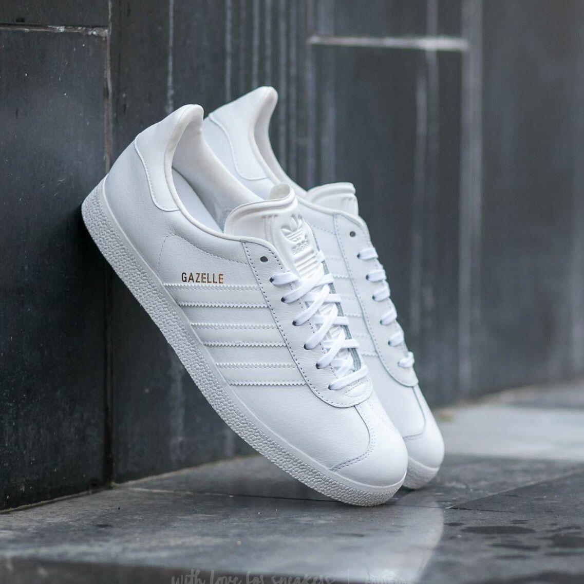 adidas Gazelle Ftw White/ Ftw White/ Gold Metallic EUR 42 2/3
