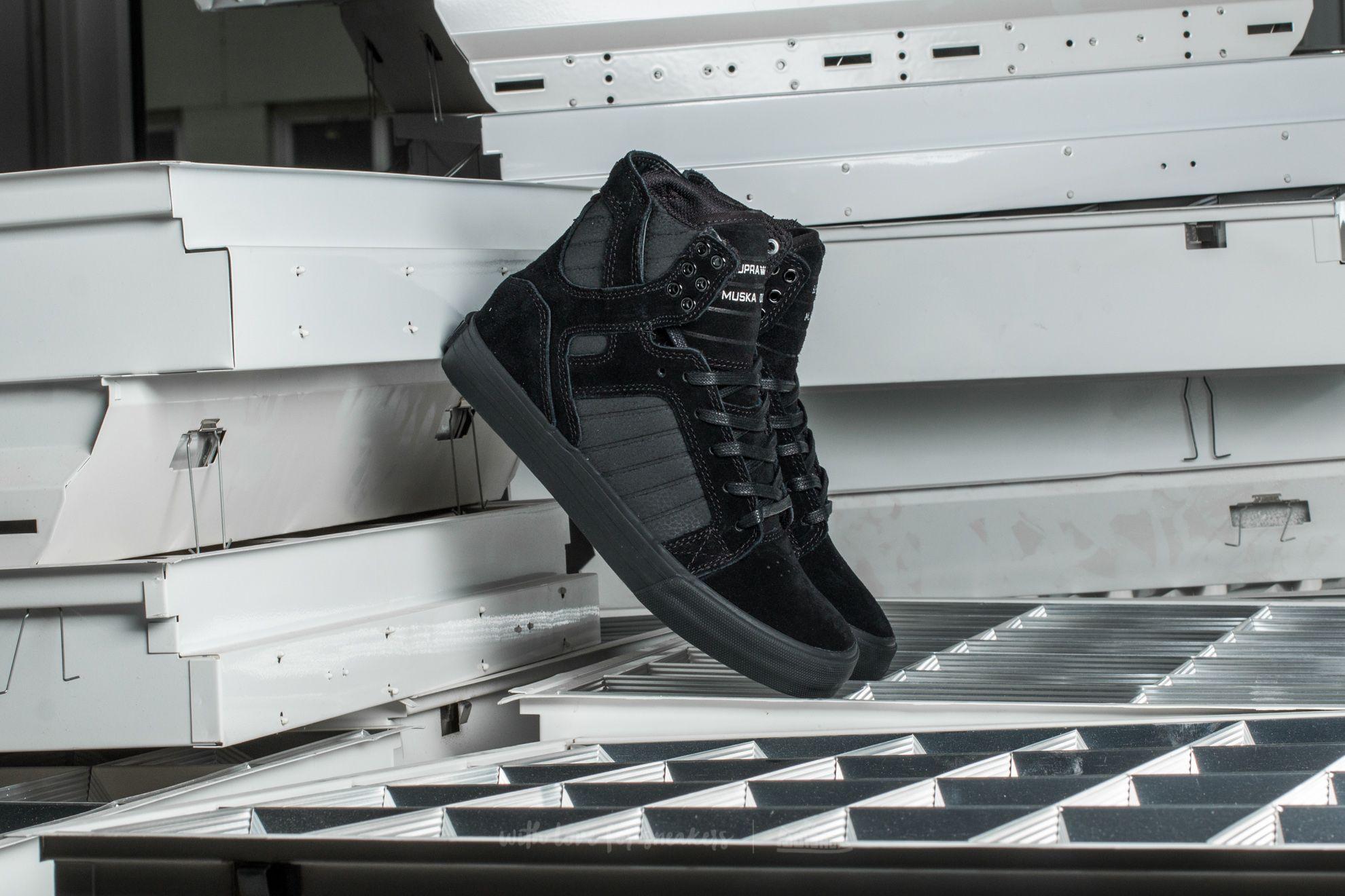 Supra Skytop Black/ Black-Black