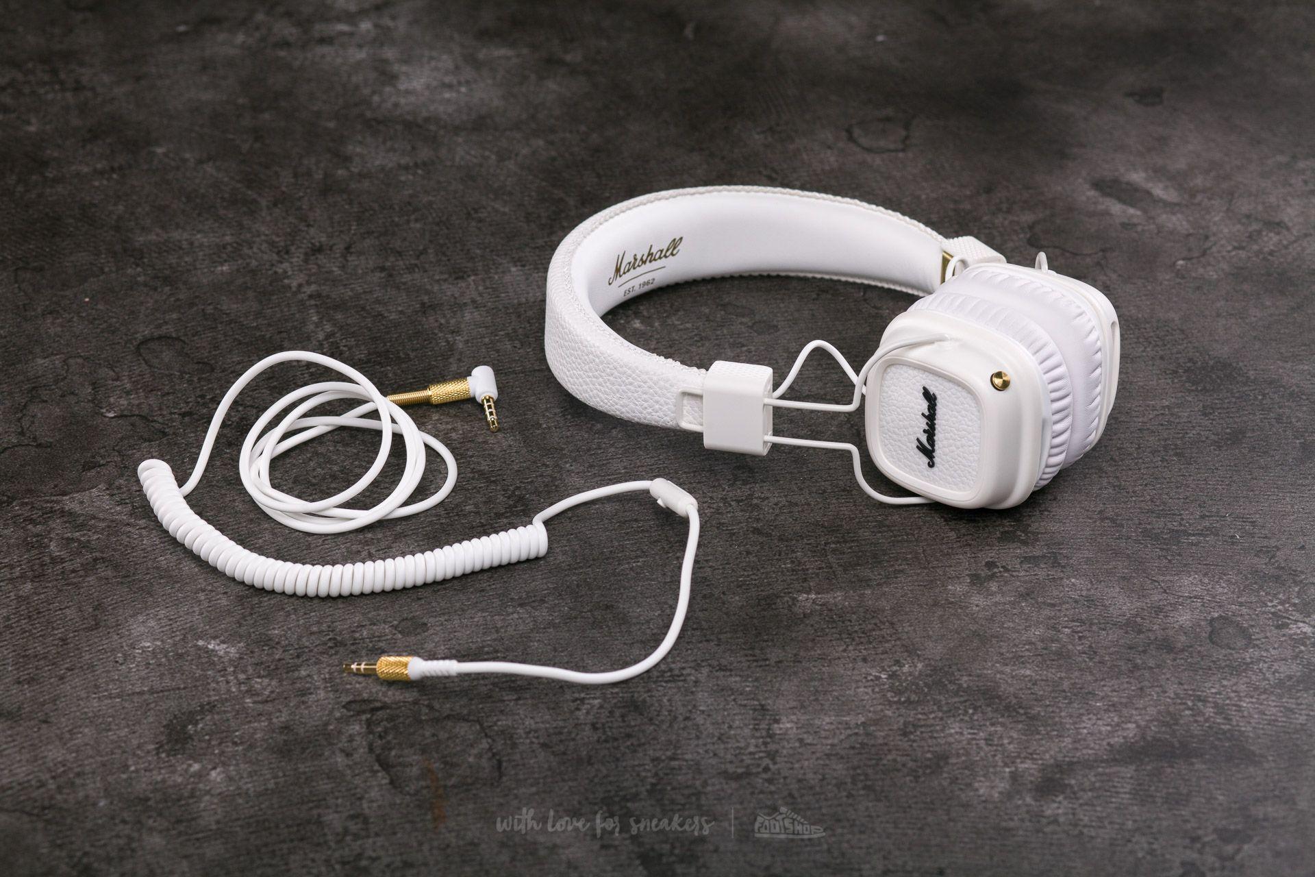 4b35a552203 Marshall Major II Bluetooth White   Footshop