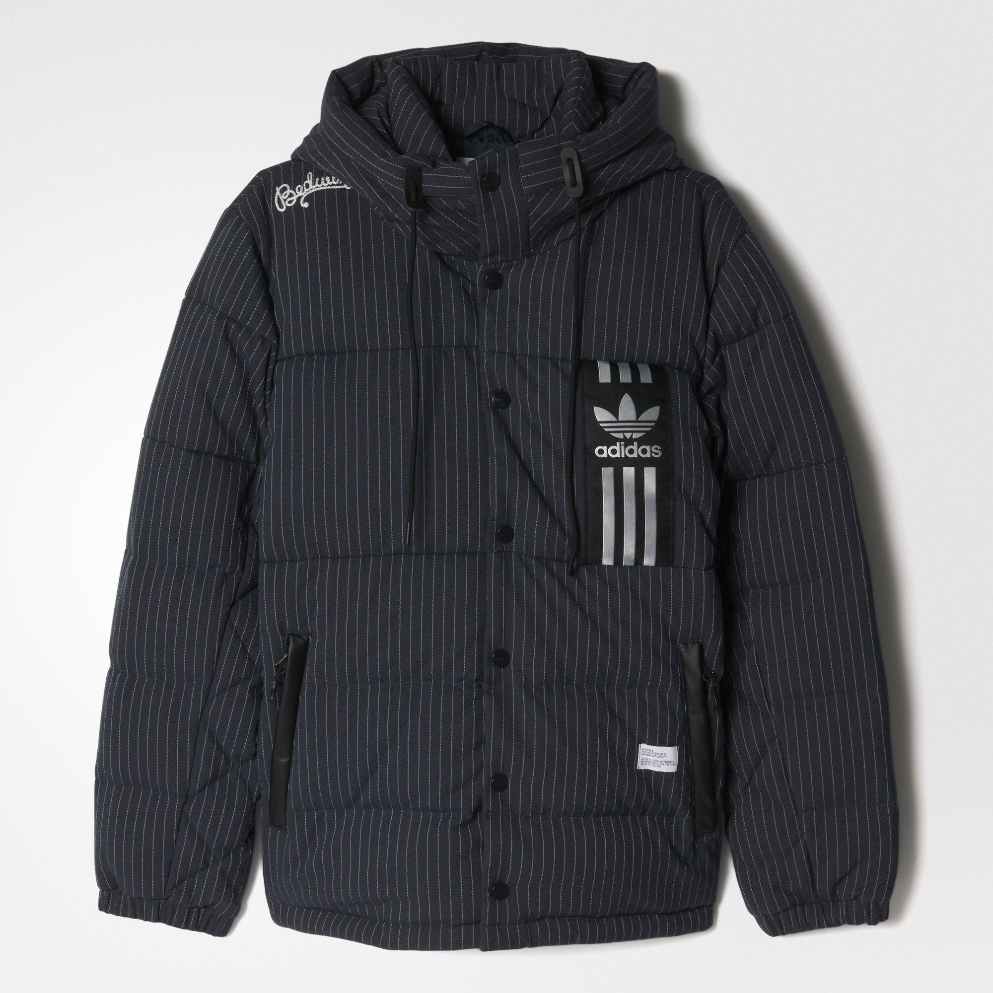 adidas x BEDWIN & THE HEARTBREAKERS ID96 Down Jacket Night Grey | Footshop