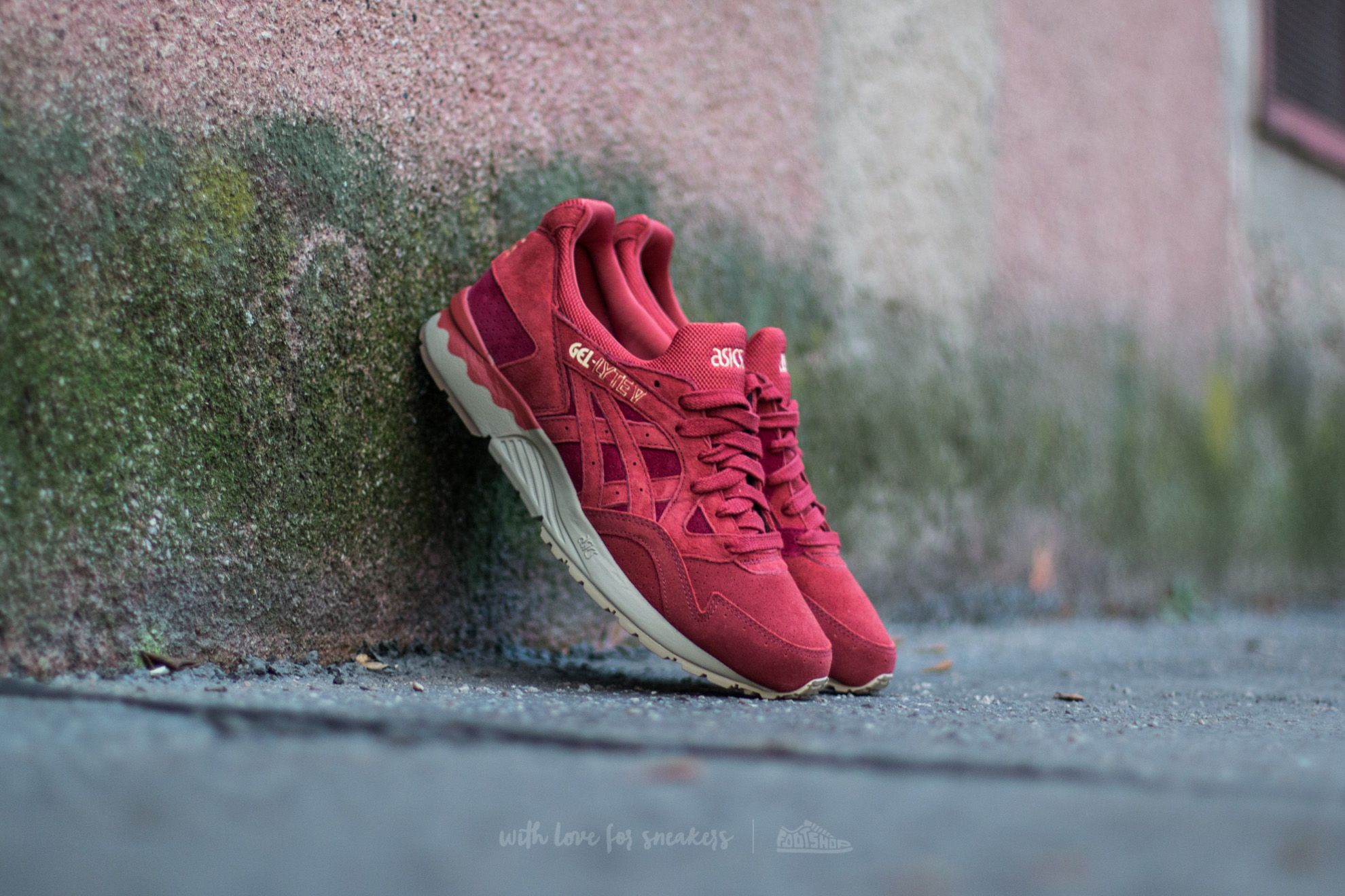 finest selection 5f59b 3404f Asics Gel-Lyte V Ot Red/Tandori Spice | Footshop