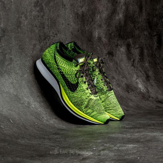 informacje o wersji na szeroki zasięg super jakość Nike Flyknit Racer Volt/ Black-Sequoia | Footshop