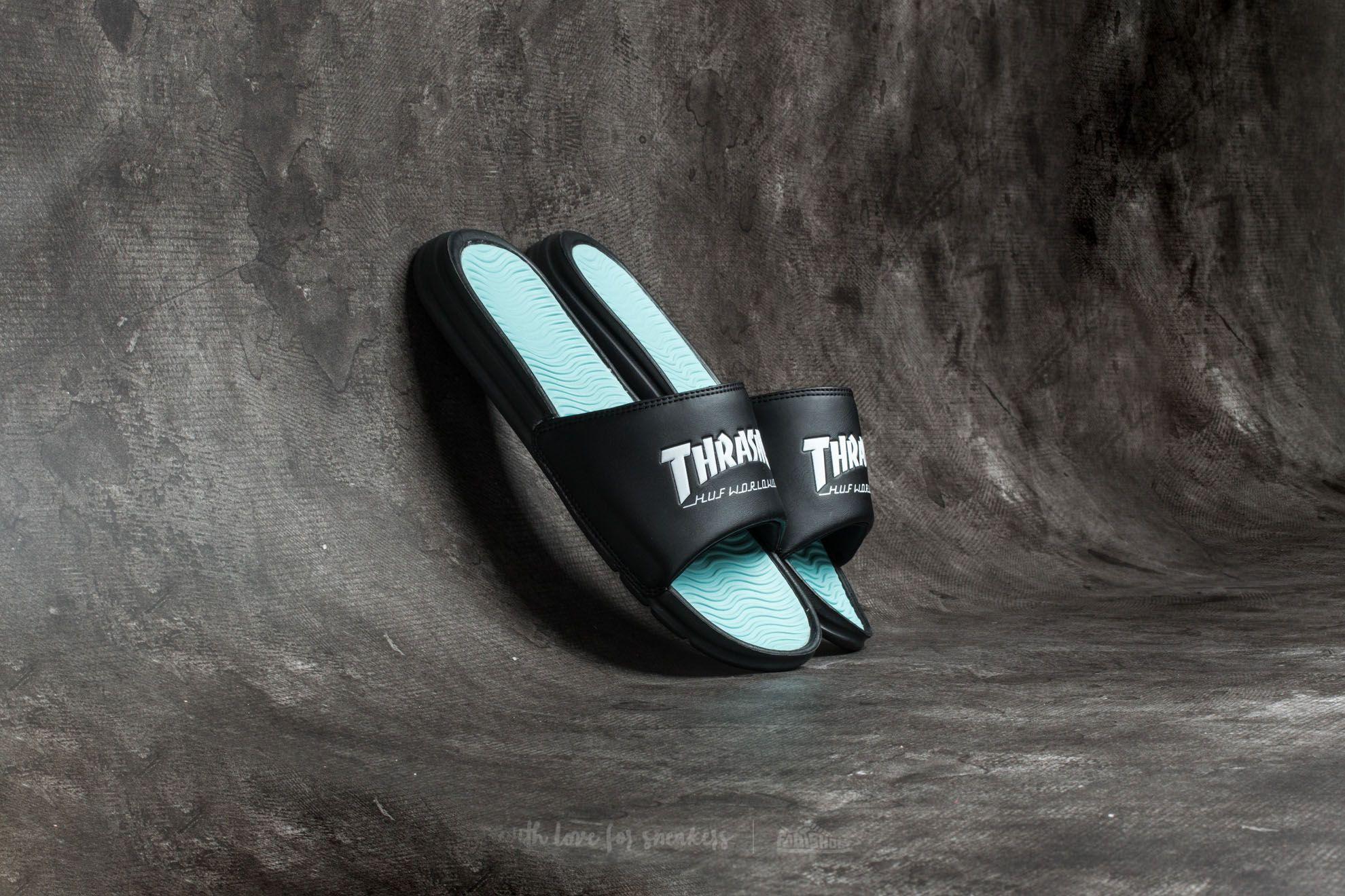5351d097b8f7 HUF x Thrasher Slide Black  Mint