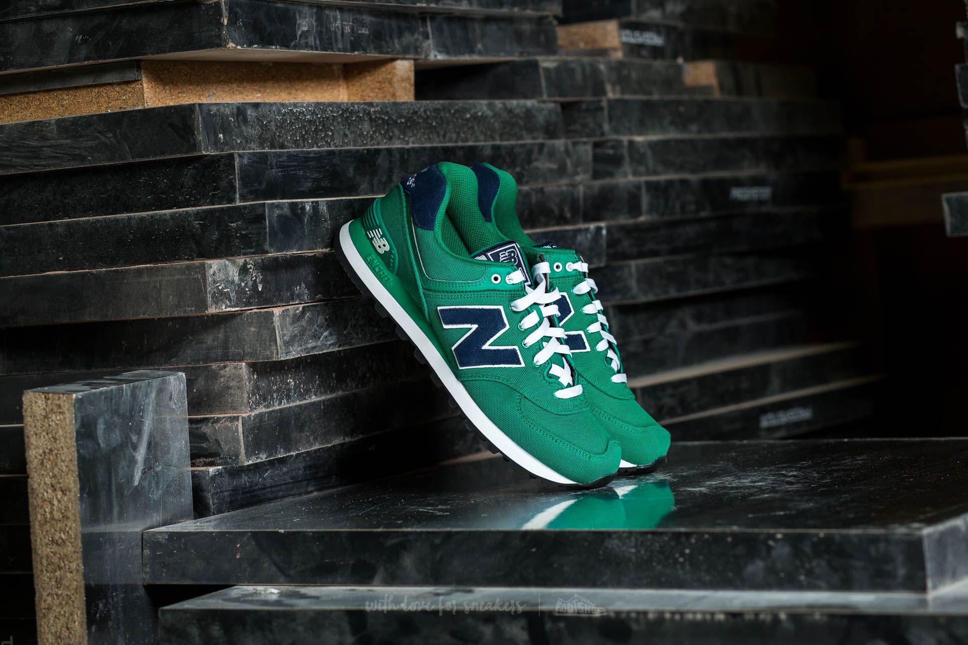 New Balance ML574POG Green   Footshop