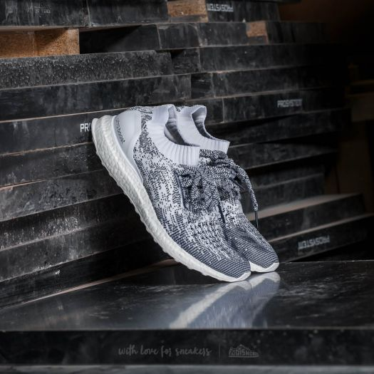 adidas Ultra Boost Uncaged Non Dyed  Footwear White  Collegiate Navy ... 1178bbb6de