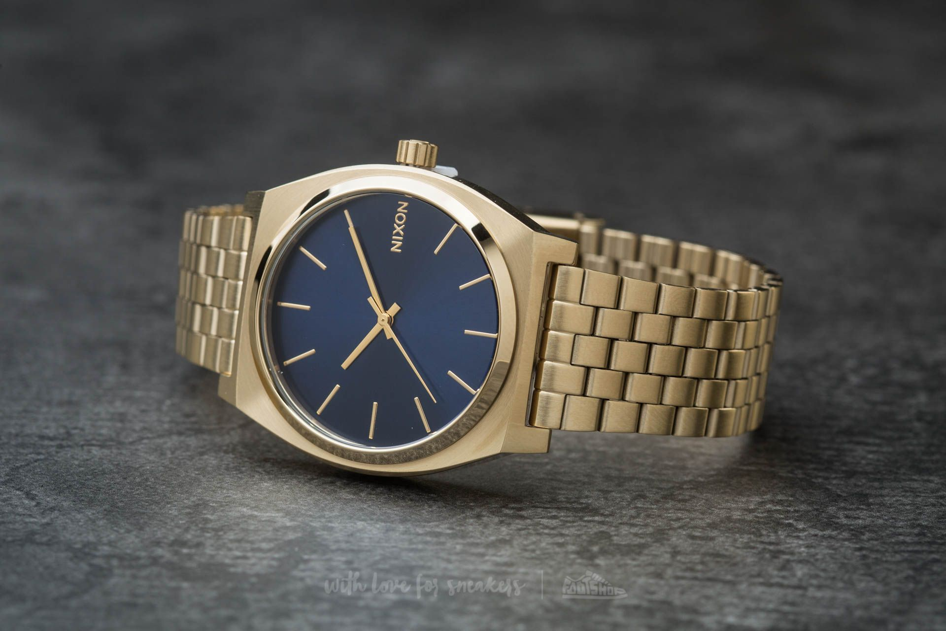 Nixon Time Teller All Light Gold/ Cobalt