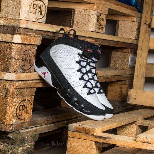 size 40 0349b 382d6 Air Jordan 9 Retro (GS) White/ True Red-Black | Footshop