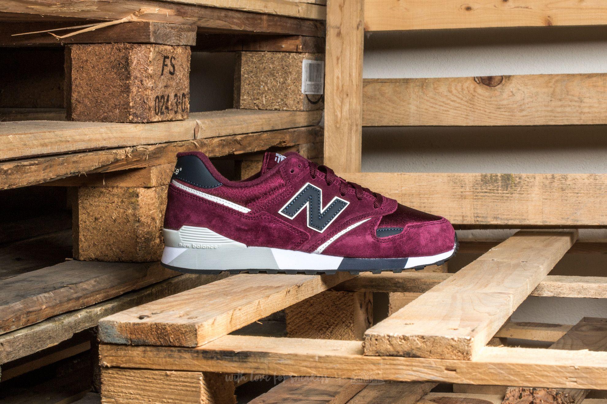 New Balance U446BN Maroon | Footshop