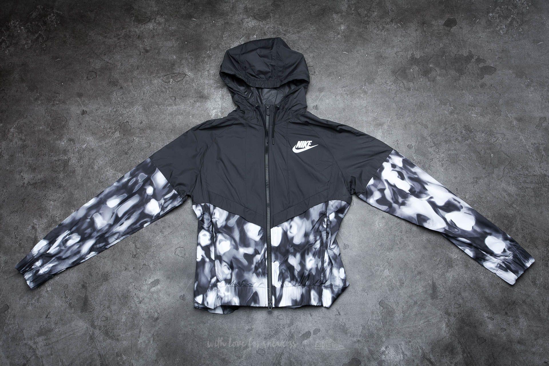 e05434d0cb28 Nike Womens Sportswear Windrunner Charcoal  White