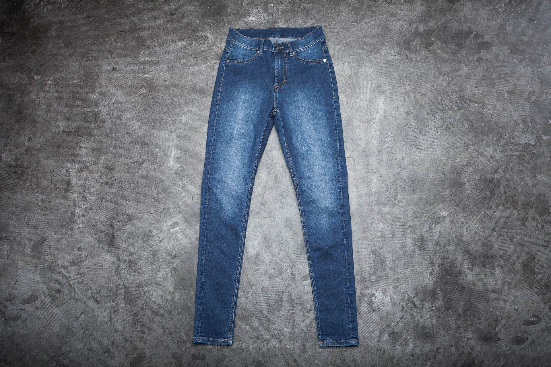 Cheap Monday High Spray Jeans Dim Blue za skvělou cenu 679 Kč koupíte na Footshop.cz