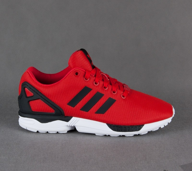 Low tops adidas ZX Flux Poppy red
