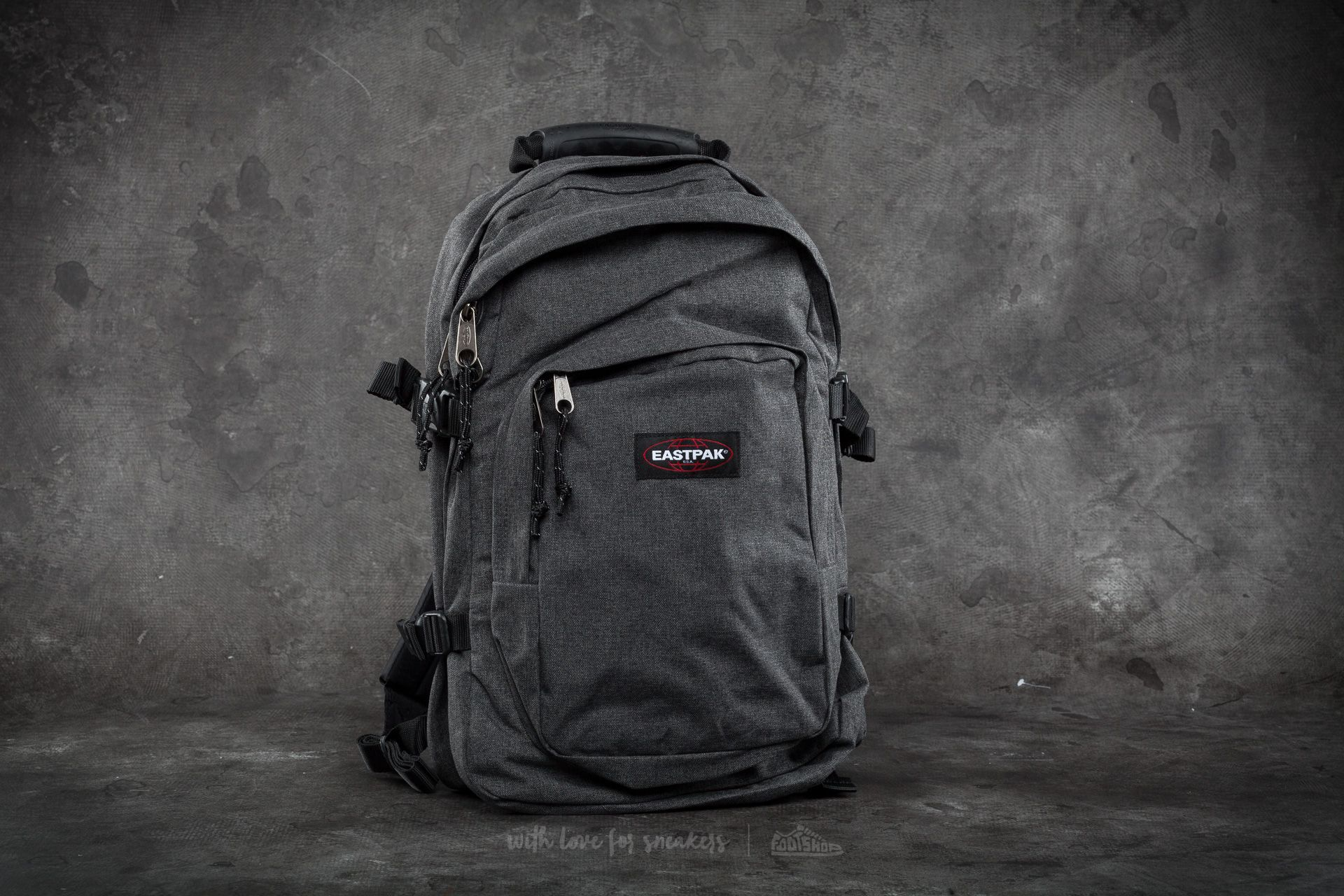 EASTPAK Provider Backpack Black Denim