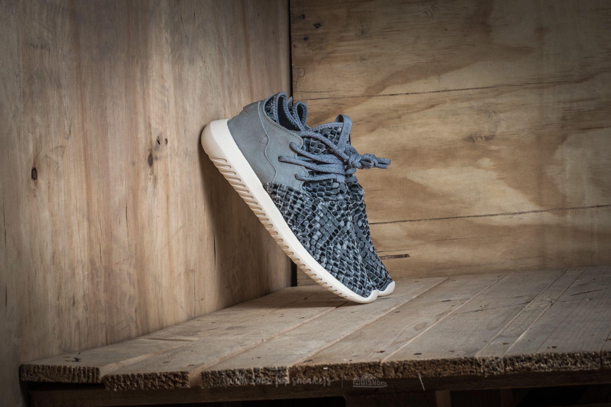 adidas Tubular Entrap W Light Onix Metallic Silver Chalk White | Footshop