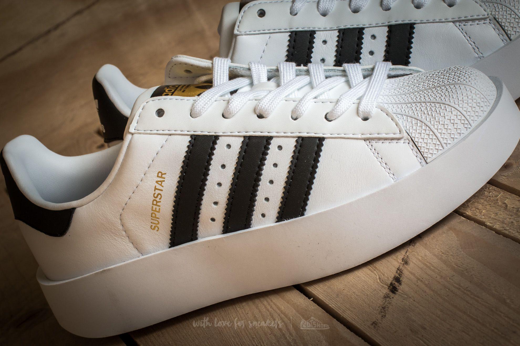 adidas Superstar Bold Platform W Ftw White Core Black Gold Metallic | Footshop