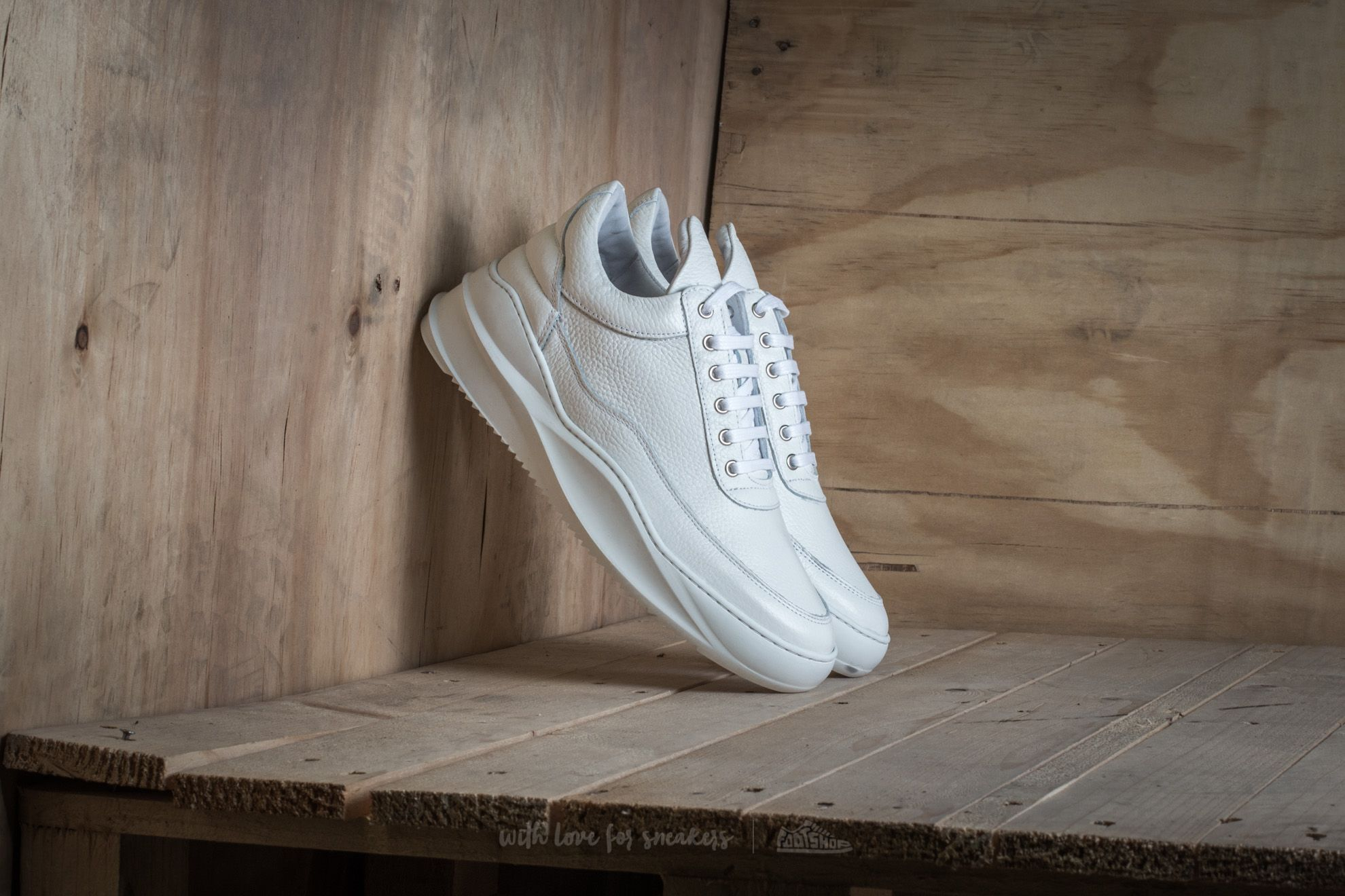 shoes Filling Pieces Low Top Sky White