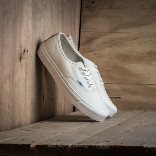 Vans OG Authentic LX (Canvas Suede) Classic White Safari | Footshop