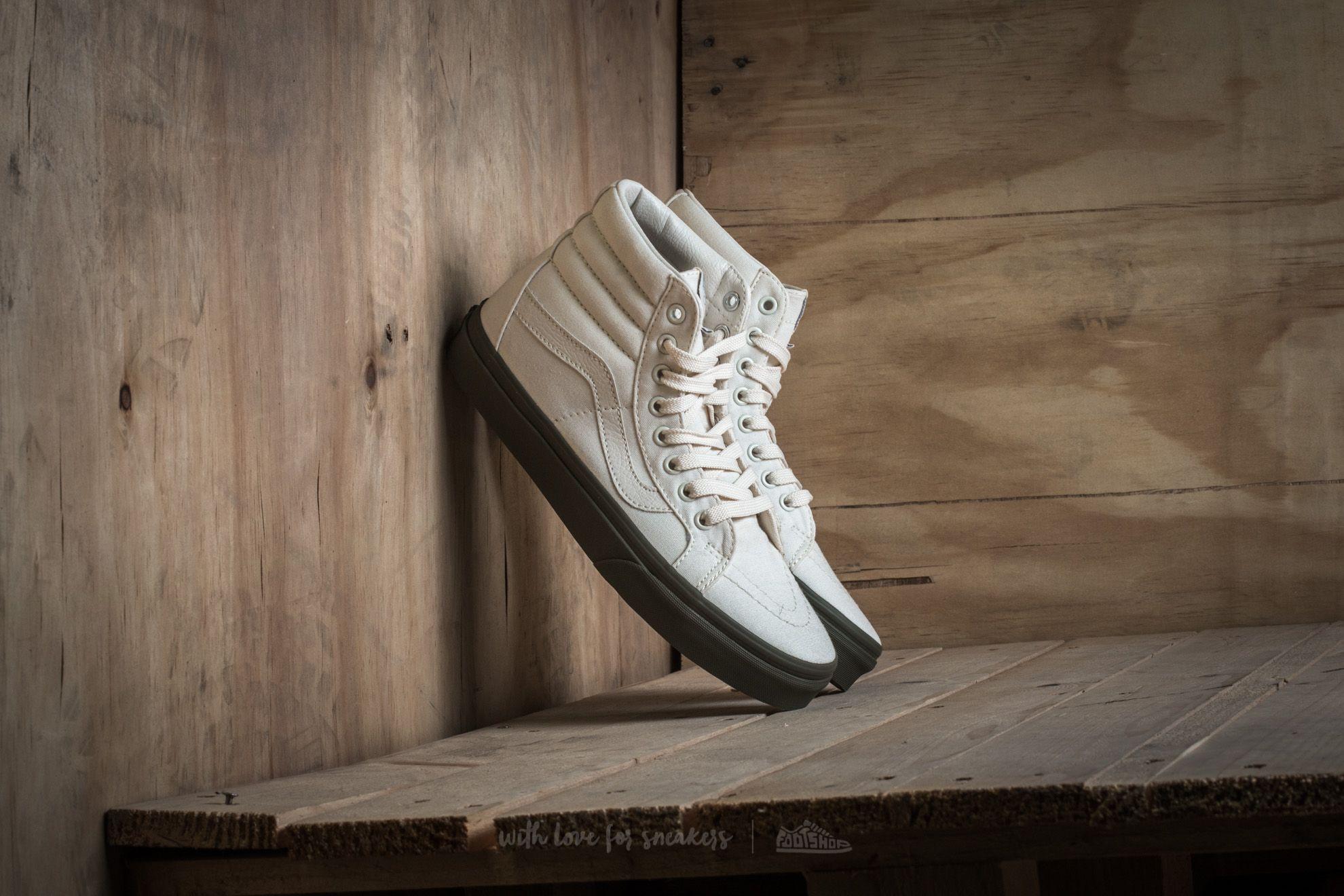 Vans Sk8-Hi Reissue Vansguard Classic White  Ivy Green  1f52e3d39b