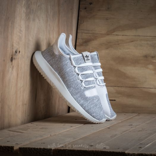 classic fit 9a7d4 2c1a2 adidas Tubular Shadow Knit Ftw White/ Ftw White/ Core Black ...