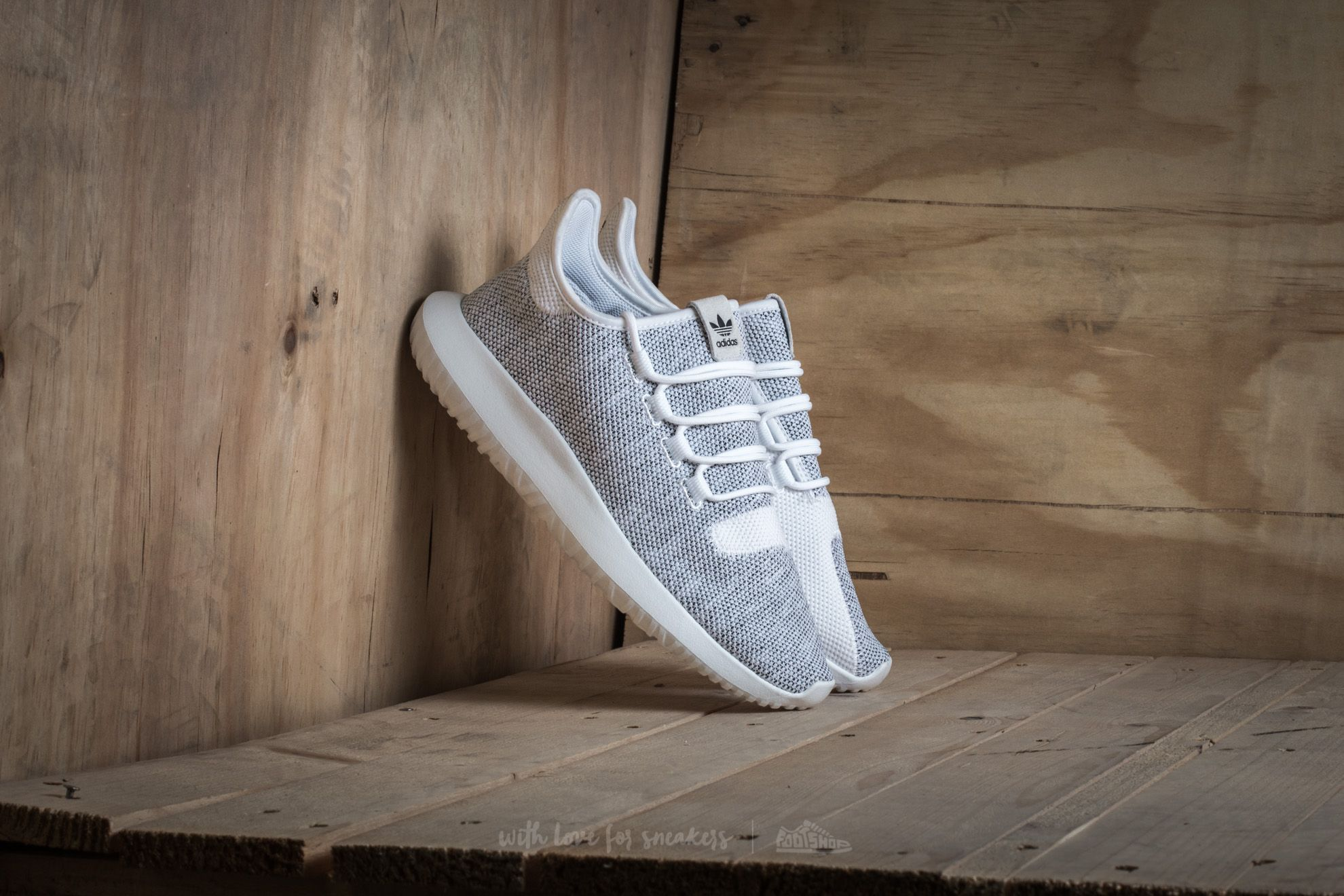 adidas Tubular Shadow Knit Ftw White Ftw White Core Black | Footshop