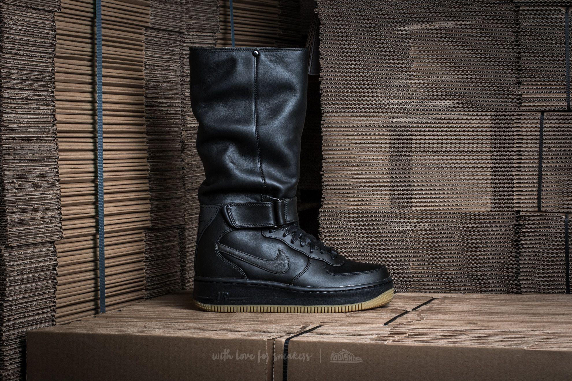 check out 31073 089b5 Nike W Air Force 1 Upstep Warrior Black/ Black-Sail-Metallic Hematite |  Footshop
