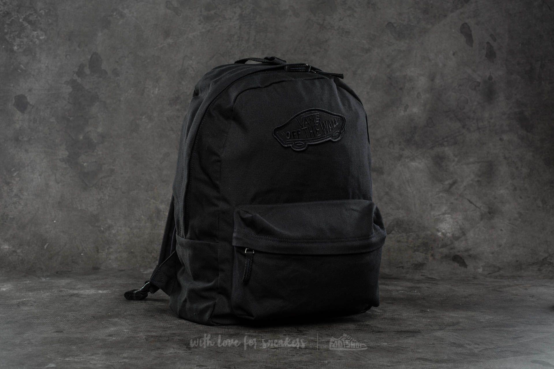 7da517dc6 Vans Realm Backpack Onyx | Footshop
