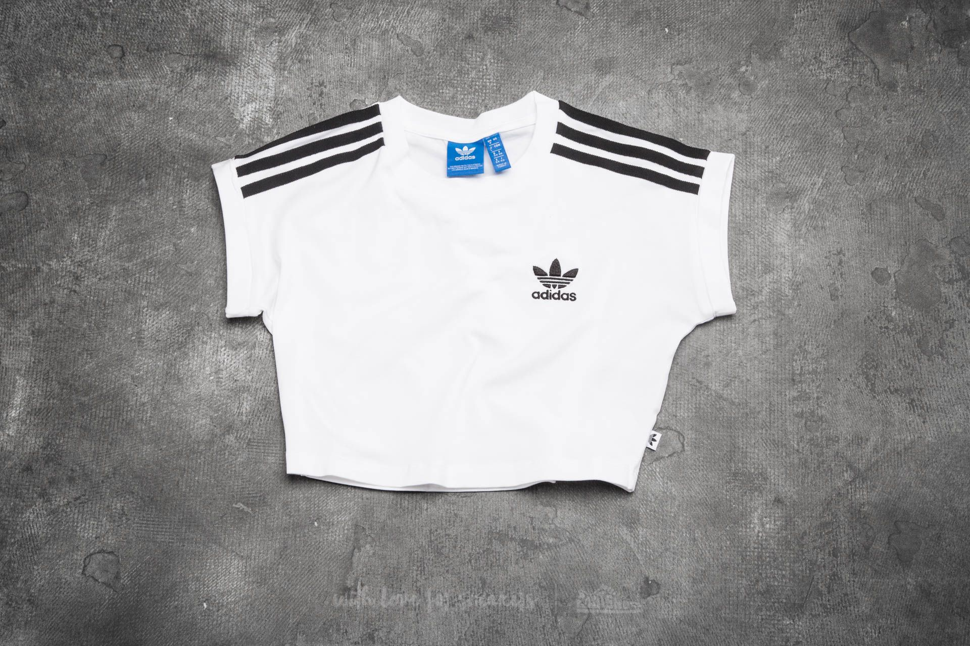 adidas Cropped Top White  6fbce33d788b