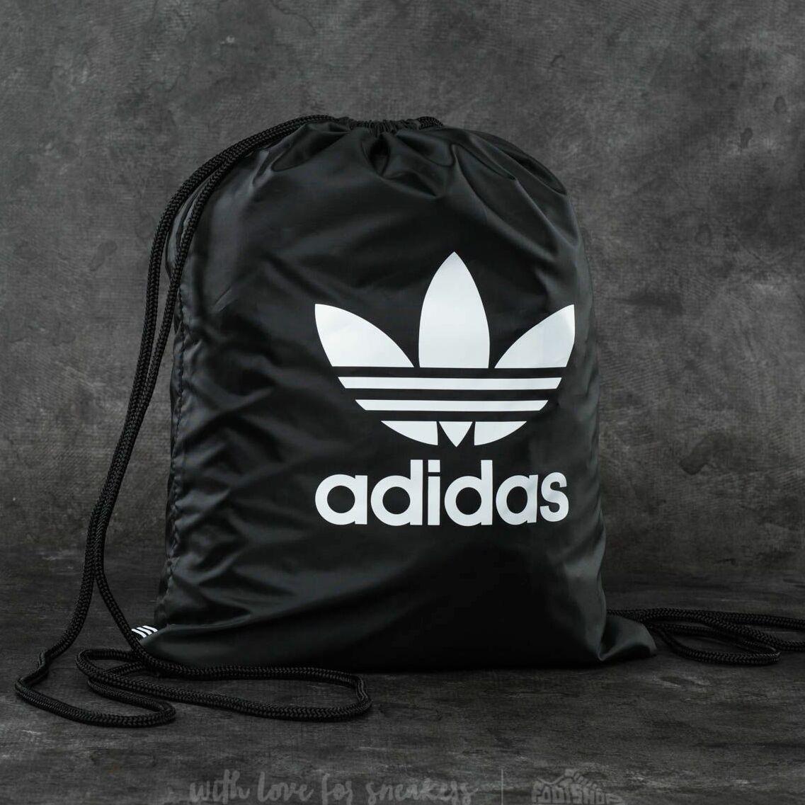 adidas Trefoil Gymsack Black Univerzálna veľkosť