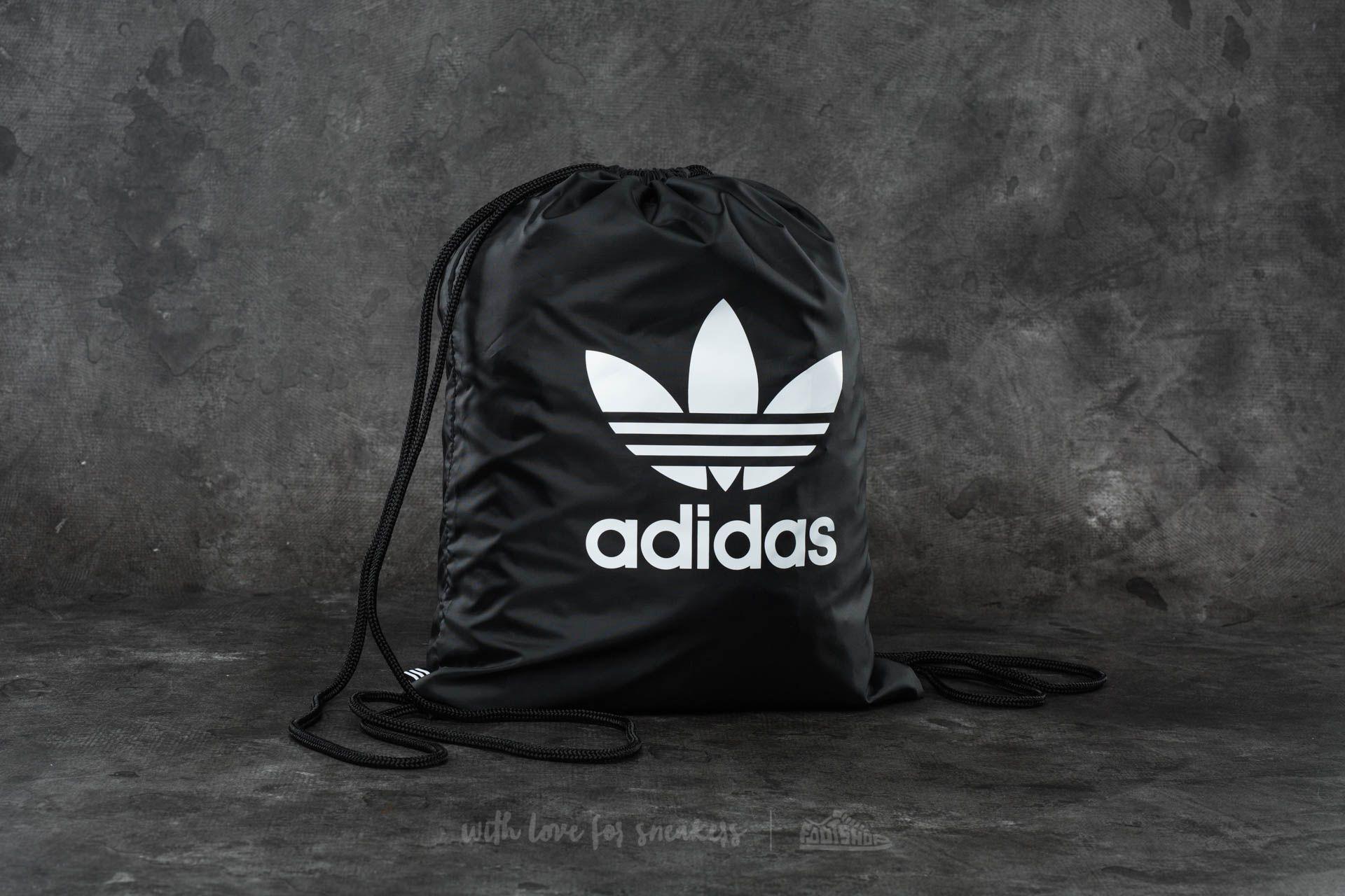 Рюкзаки-мешки adidas Trefoil Gymsack Black