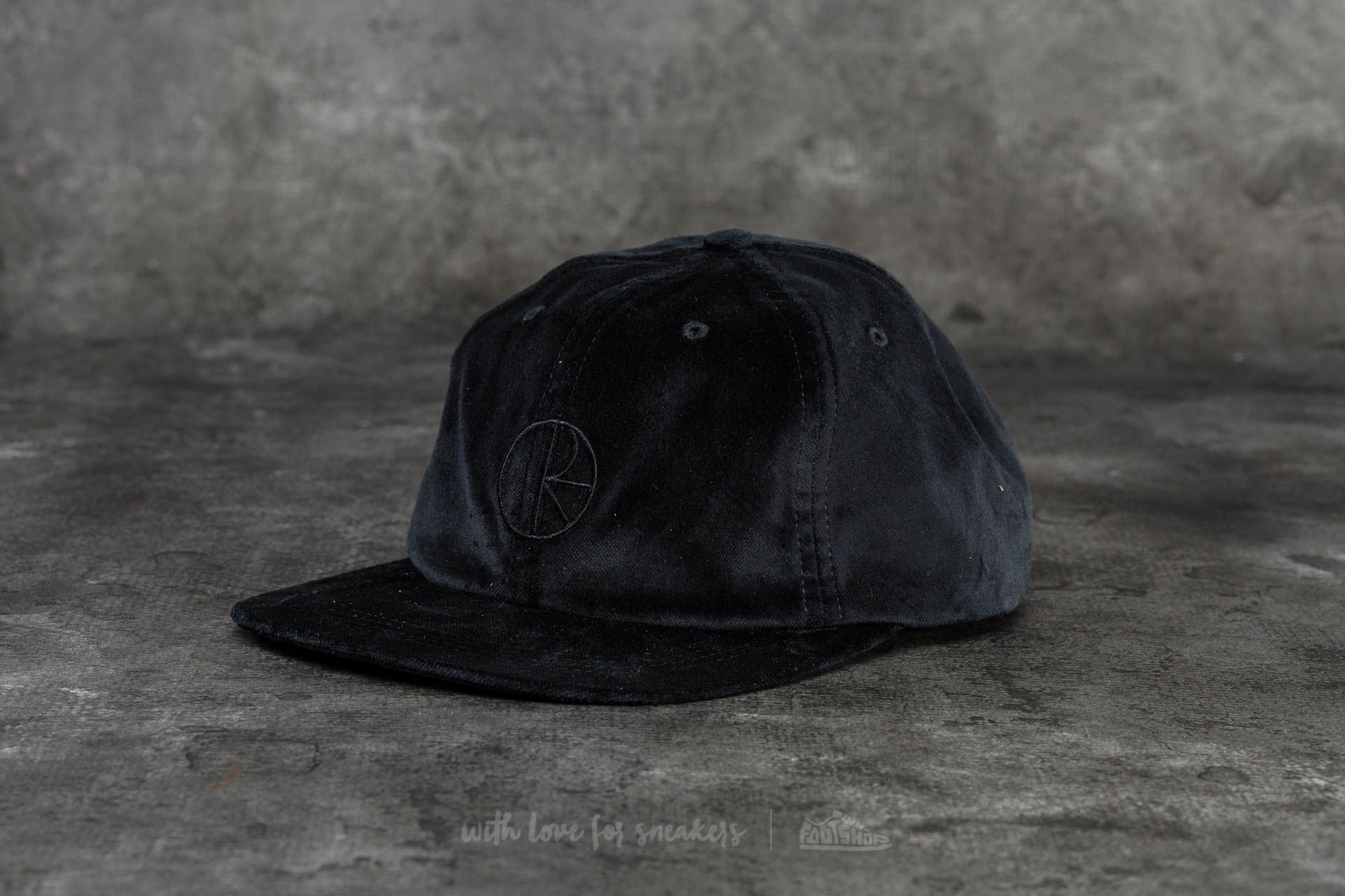 32246263b4a Polar Skate Co. Corduroy Cap Black