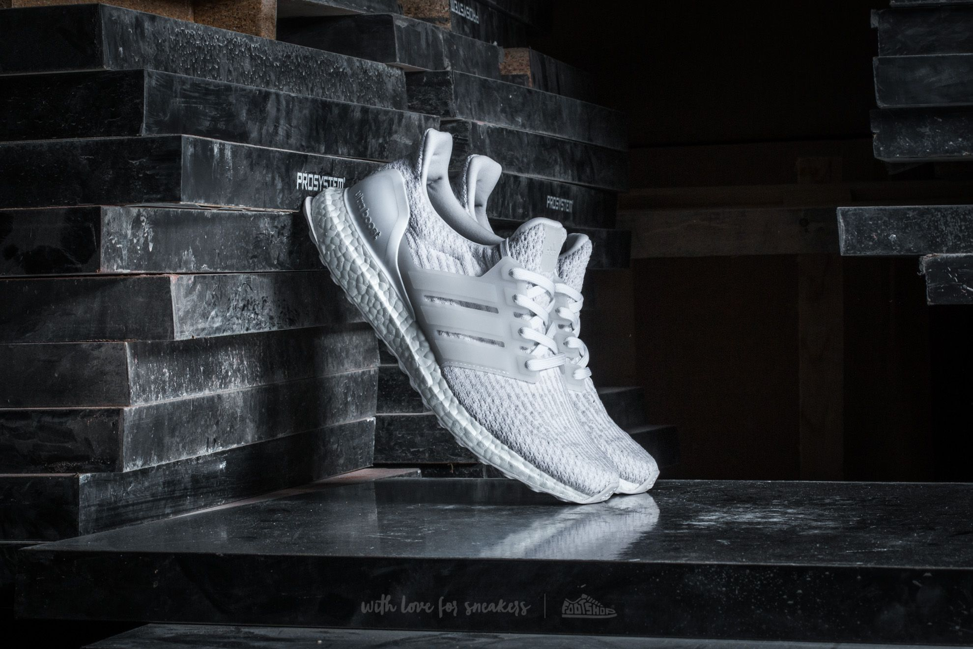 adidas Ultra Boost W Footwear White/ Crystal White