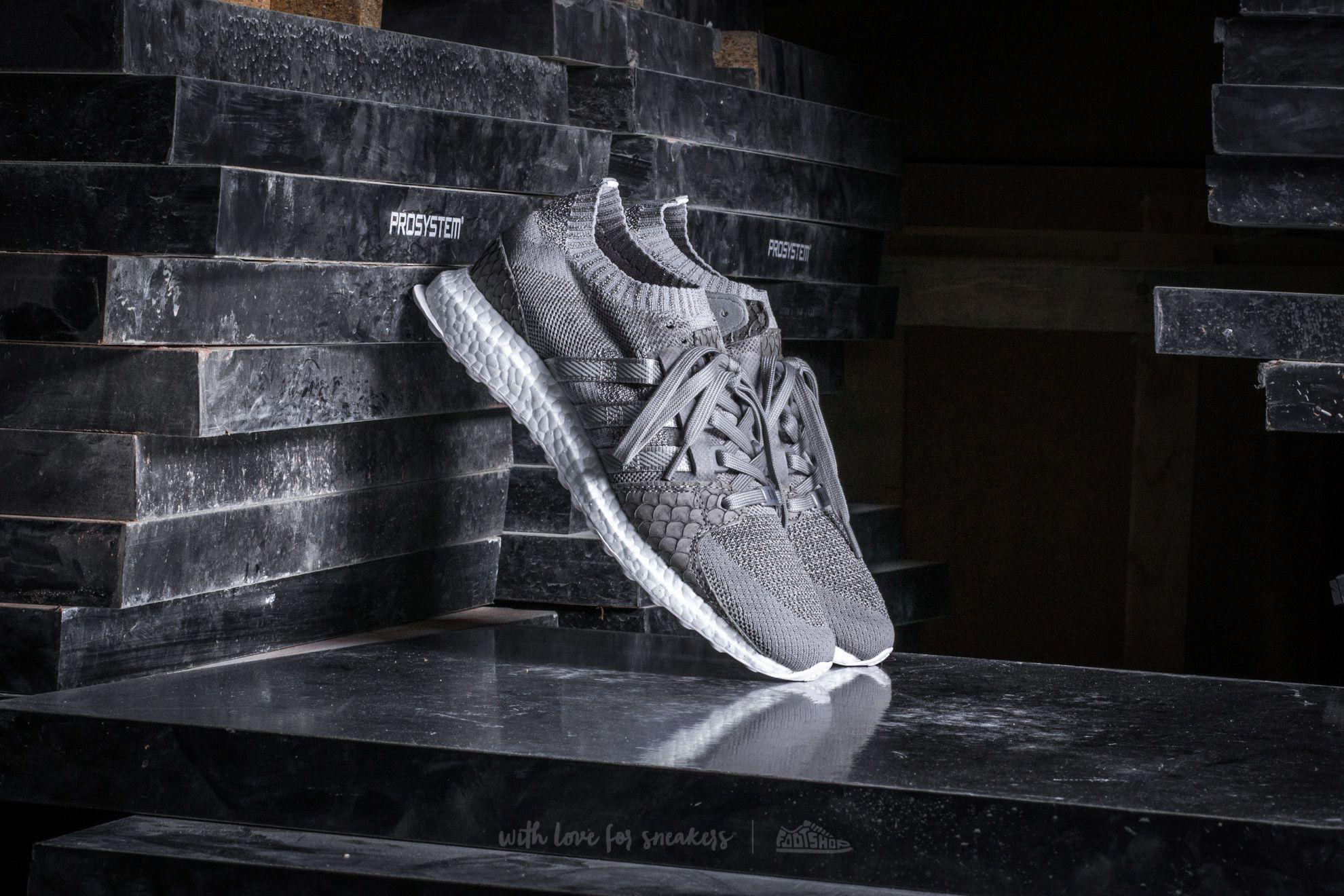 Pánské tenisky a boty adidas x King Push Equipment Support Ultra Primeknit Stone/ Stone/ Stone