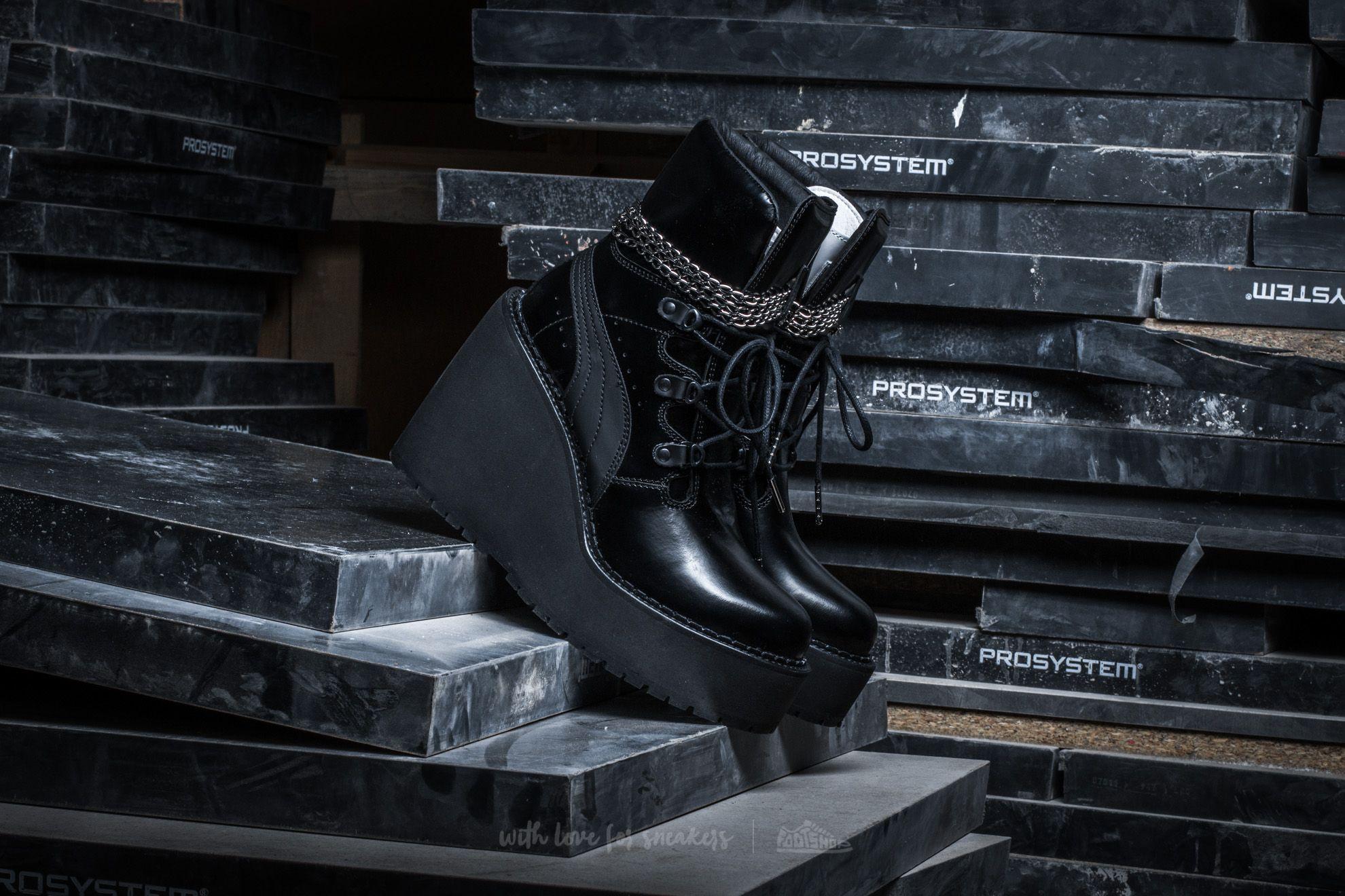 Puma x Rihanna Sneaker Boot Wedge Puma Black-Black-Puma Black  d6fd9a8c561