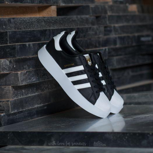 adidas Superstar Bold W Core Black Ftw White Gold Metallic