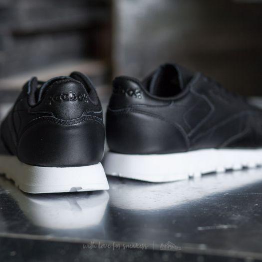 Reebok Classic Leather Hype Metallic Black White