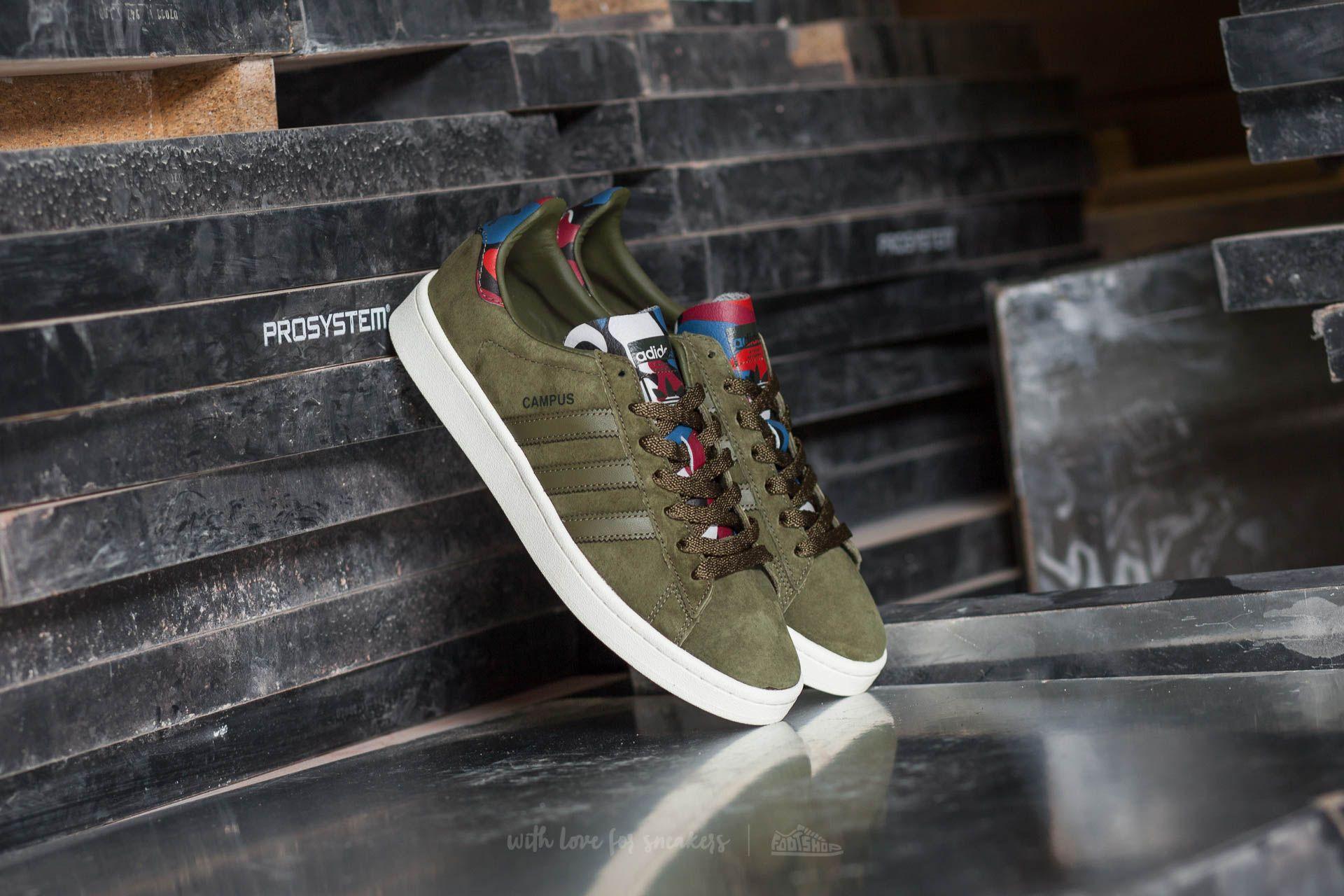 Adidas Originals Campus Herren Schuhe B5j1Aka Olive Cargo