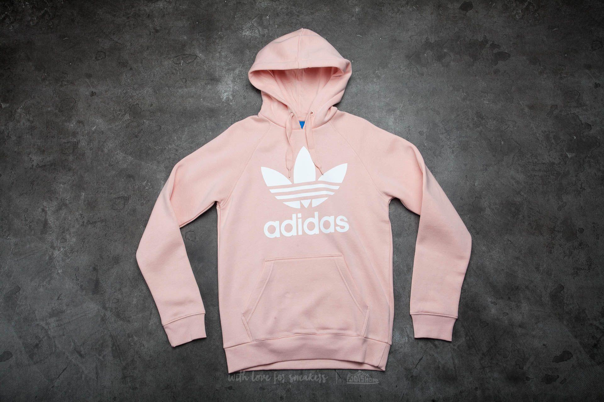 adidas Original Trefoil Hood Vapour Pink | Footshop