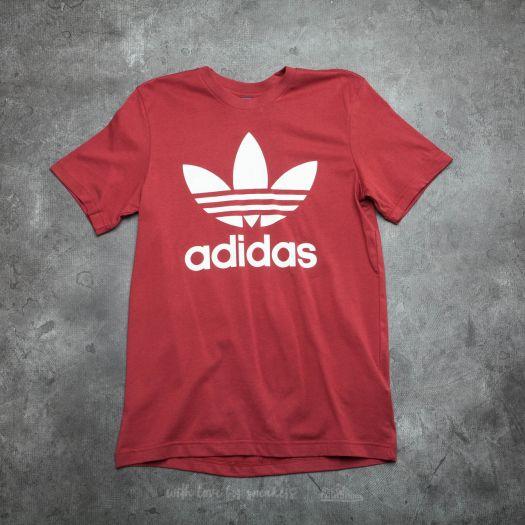 adidas Originals Trefoil Tee red