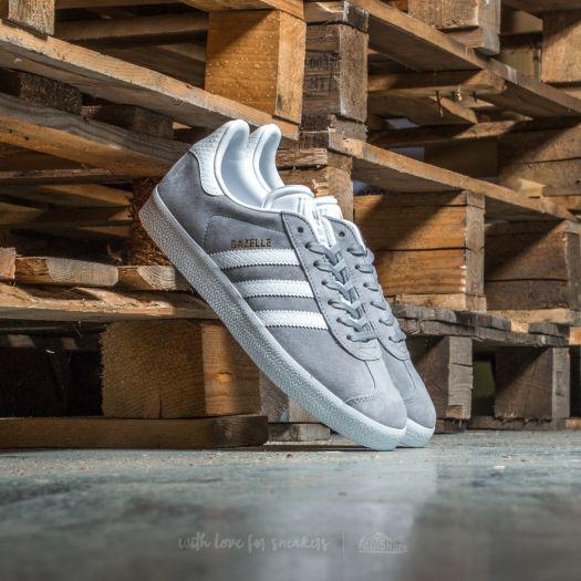 adidas Gazelle W Mid Grey/ Ftw White/ Gold Metallic | Footshop