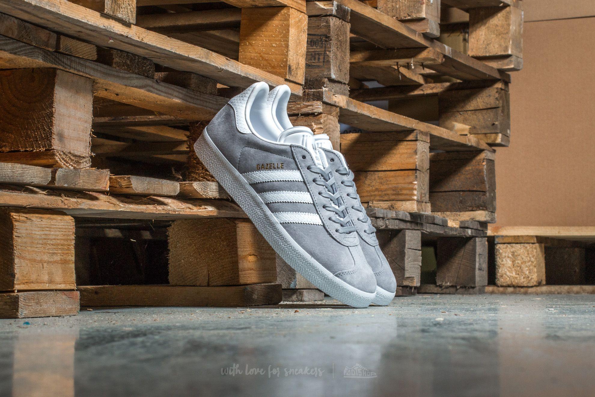 huge selection of 776c9 b35c7 adidas Gazelle W. Mid Grey ...