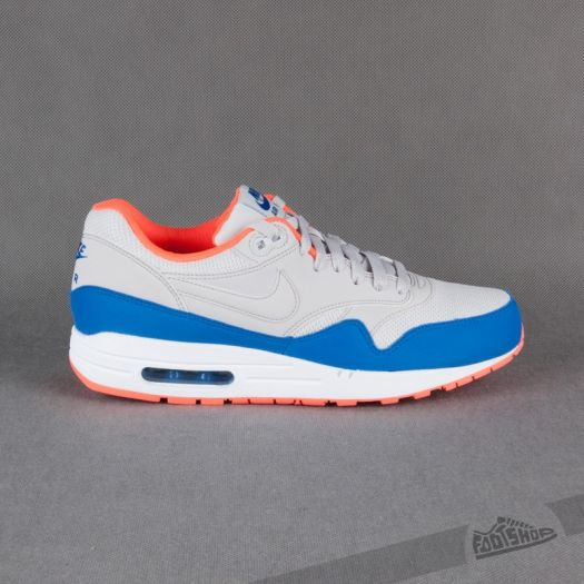 outlet look good shoes sale quality Nike Air Max 1 Essential Light Ash Grey/Hyper | Footshop