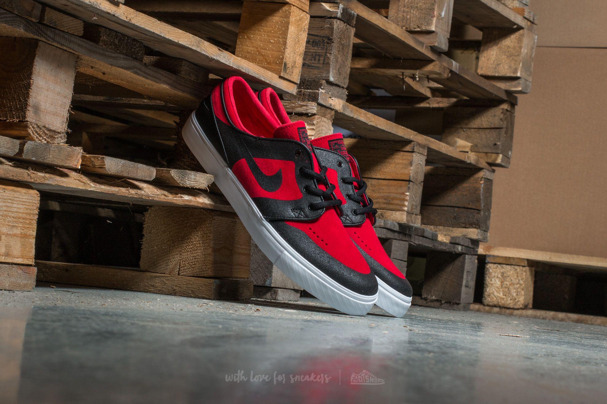 Nike SB Stefan Janoski Elite Gym Red  Black  fa2fff77e