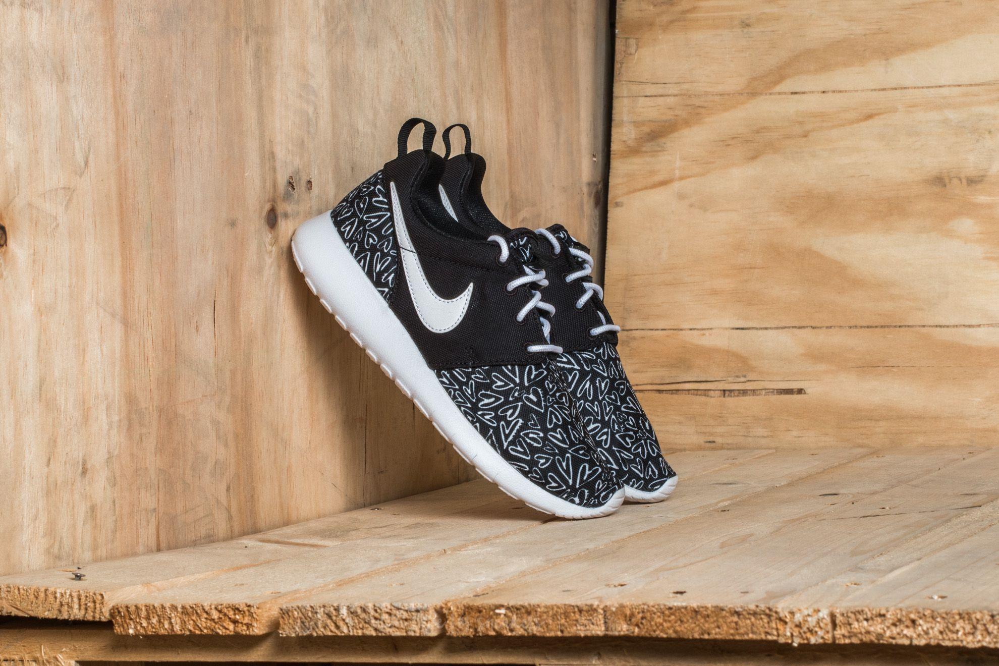 shoes Nike Roshe One Print (GS) Black